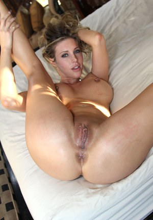 Samantha Saint and her perky tits are here to show Ryan's cock what a good time is.