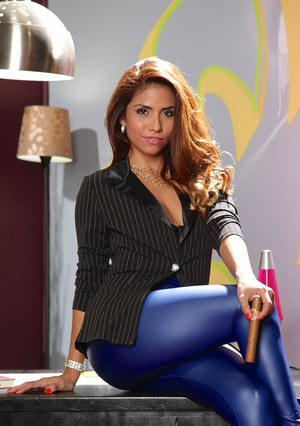 WOW WOW WOW... we got a NEW scene with Miss Isabella de Santos. She one bad chick in his hot new scene from SPIZOO. She plays a Colombian boss with gets what she wants. Isabella takes on Van wild in this super sexy fuck fest. She fucks the shit out of him
