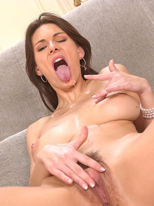 Busty chick Anita Queen blows a BBC and her photographer at the same time