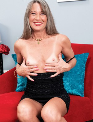 Beautiful mature Leilani Lei flashes naked upskirt & reveals very tiny tits