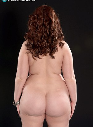 Beautiful hot fatty Felicia Clover display her hot big ass  huge saggy boobs