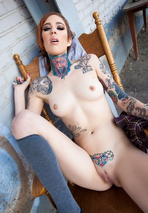 sexiest tattoo women naked