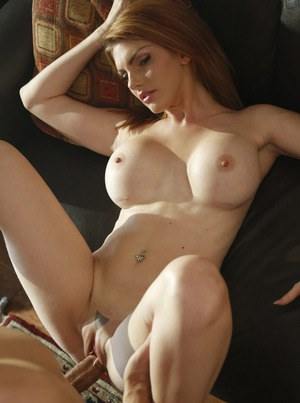 Hot pornstar Lilith Lust gives a titjob  rides cowgirl with big tits bouncing