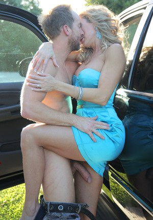 MILF Brandi Love and Ryan Madison are compelled to fuck outside and indoors