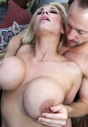 Big boobed blonde Alanah Rae and Ryan Madison fuck each others brains out