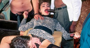 milf annabelle applies for a job buts ends up getting gangbanged