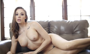Horny wife Chanel Preston gets a hot pussy licking and rides hard cock cowgirl