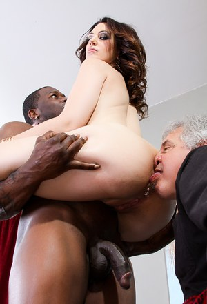 Hot MILF facesitting  sucking bbc in ass licking interracial groupsex