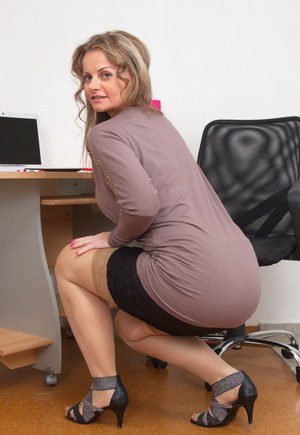 Business Ladies Showing Pussy