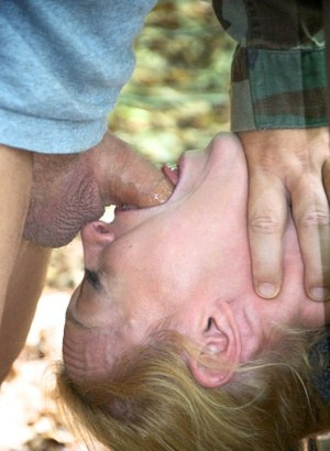 Sex slaves Darling & Hazel Hypnotic are rendered helpless out in the woods