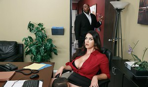 Xander Corvus may be the CEO's son, but that doesn't mean mid-management maven Alison Tyler has to put up with his incompetence. He's going to have to earn his position, and that means making sure Alison's hungry horny pussy is wet and cumming all day lon