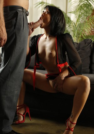Petite Asian wife Saya Song pleasures her husband with the rough sex he enjoys