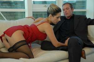 Classy attractive lady fucked by her naughty boss
