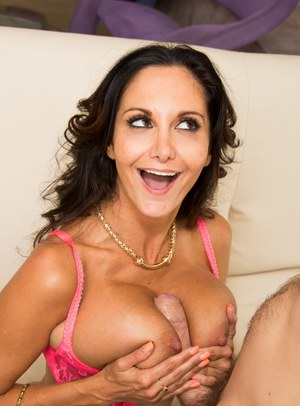 Mature busty MILF Ava Addams lets her huge melons loose to enjoy anal sex