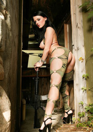 Army gal Sophie Dee enjoys hardcore anal attention from her commanding officer