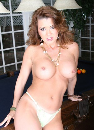 Big titted Raquel Devine showing off her pussy