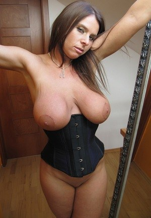 Homemade amateur tied wife saggy tits