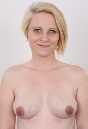 Pregnant girl lets her hormones get the better of her and decides to pose nude