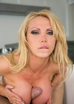 Blonde bombshell Nikki Benz gets ass & mouth stuffed with big cock & cumshot