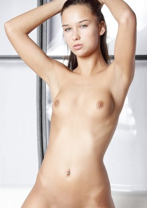 18 year old girl celebrates her birthday with nude posing