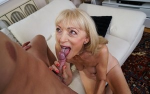old granny blowjob big titts and wet pussy