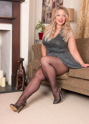 Teens shiny pantyhose nylon legs apologise