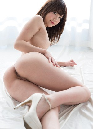 Beautiful Japanese girl next door rubs and strokes a cock to ejaculation