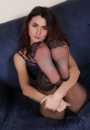 Legs pantyhose unsuspecting agree
