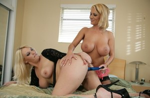 Big Titted Blonde MILFS Fuck Like Monsters