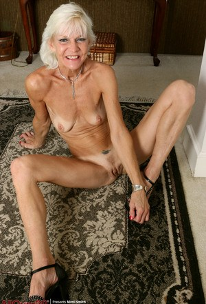 small skinny naked grannies