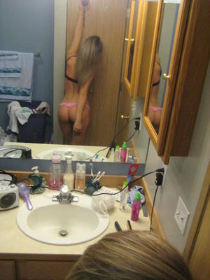 Collection of naughty nudes sent to a boyfriend by his now ex-girlfriend
