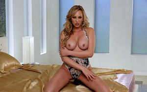 Brett Rossi Intimate Passion on Her Sexy Lingerie