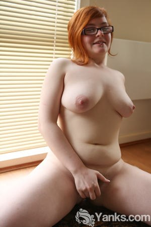 Red Head Fingering Herself