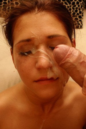 Bi girl is fist fucked by a girlfriend before a big cumshot on her face