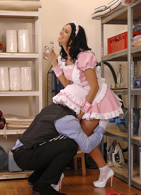 Turned Into A Sexy Hotel Maid