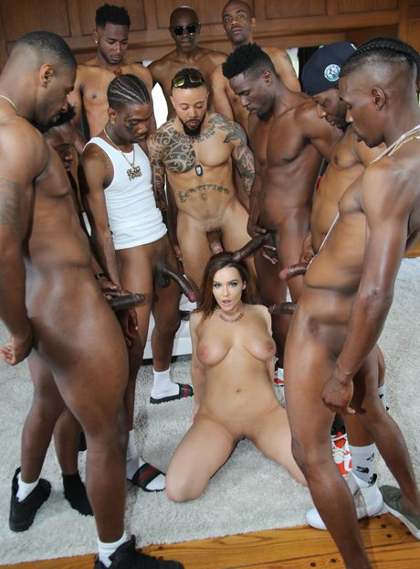Black Guys Gangbang Latina